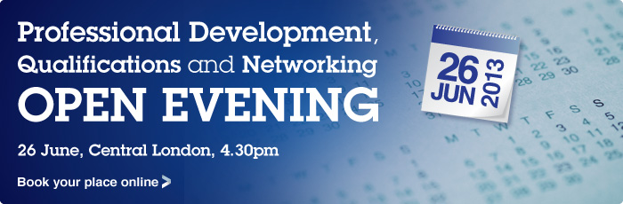 Professional Development, Qualifications and Networking Open Evening