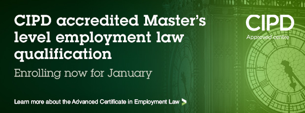 Advanced Certificate in Employment Law