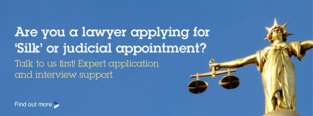 Judicial and 'Silk' application support