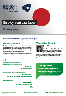 Download Employment Law Japan
