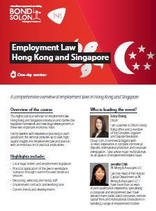 Download Employment Law Hong Kong and Singapore