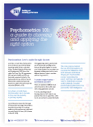 Download Psychometrics White Paper