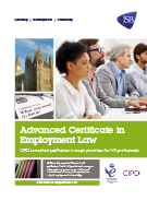Download Advanced Certificate in Employment Law