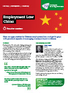 Download Employment Law China