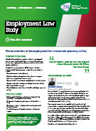 Download Employment Law Italy