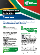 Download Employment Law South Africa