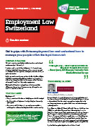 Download Employment Law Switzerland
