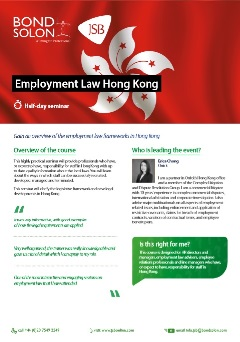 Download Employment Law Hong Kong