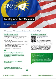 Download Employment Law Malaysia