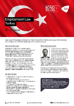 Download Employment Law Turkey
