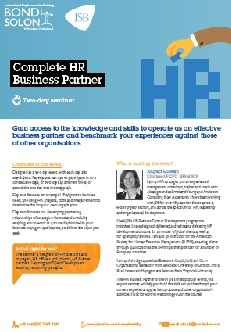 Download Complete HR Business Partner