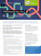 Download TUPE Beyond the Law - in-house training