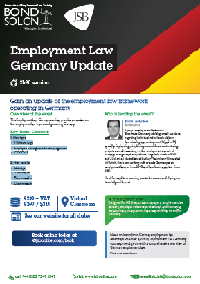 Download Employment Law Germany Update